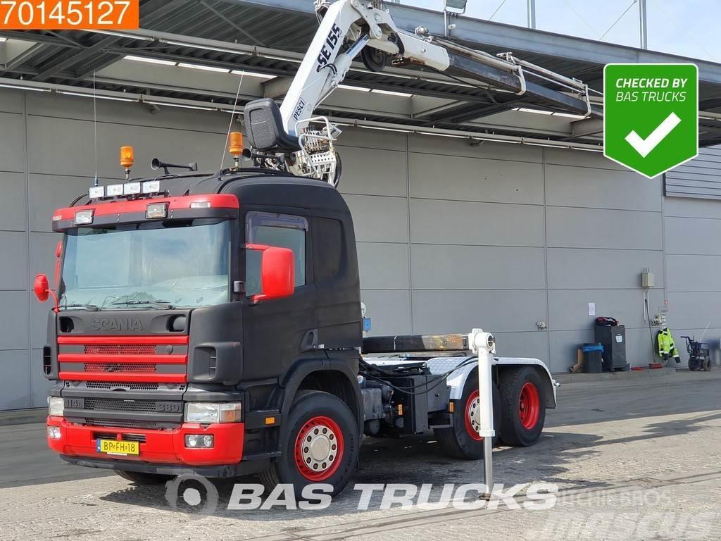Scania P114 6X2 NL-Truck 3-Pedals Euro 3 Pesci SE155/3