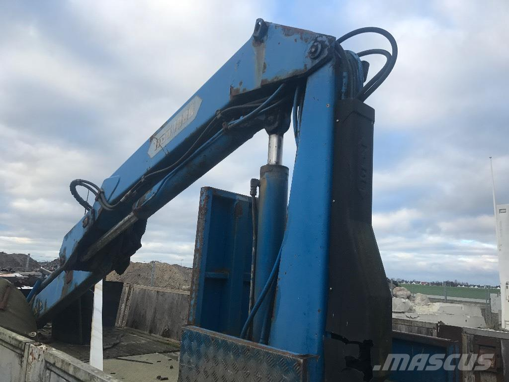 Tico kran fjärrstyrd 10 ton/m billig kran
