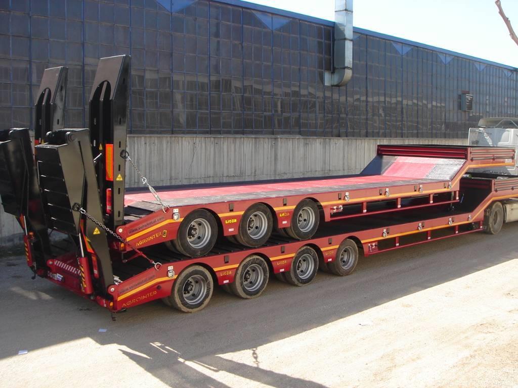 Lider Low-loader semi-trailers