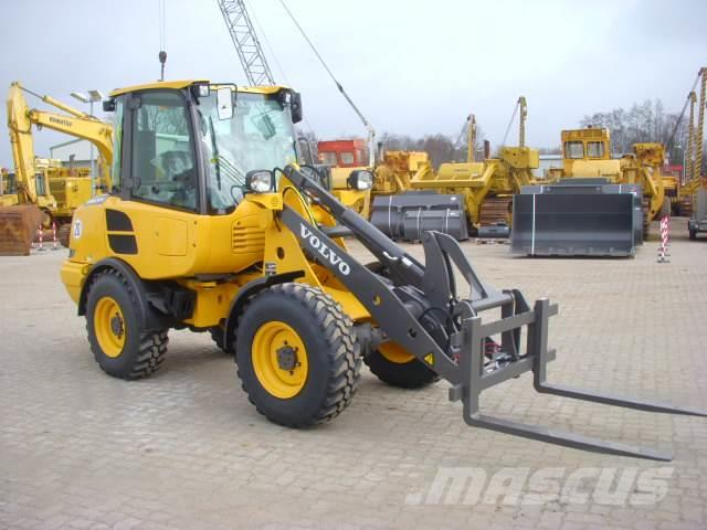 Used Volvo L20F wheel loaders Year: 2018 for sale - Mascus USA