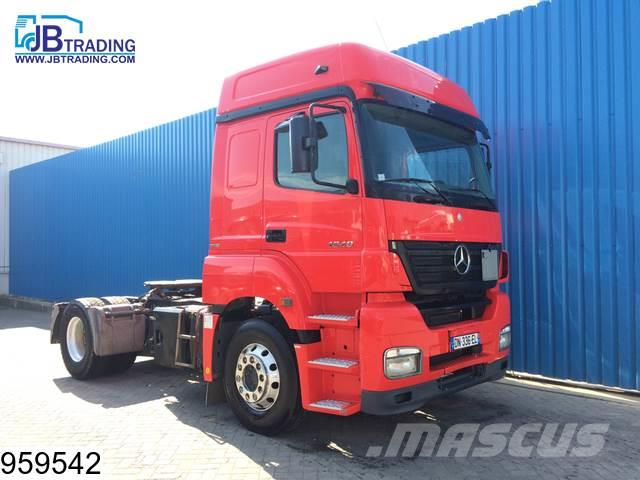 Mercedes-Benz Axor 1840 Manual, Retarder, Airco, ADR, Euro 4
