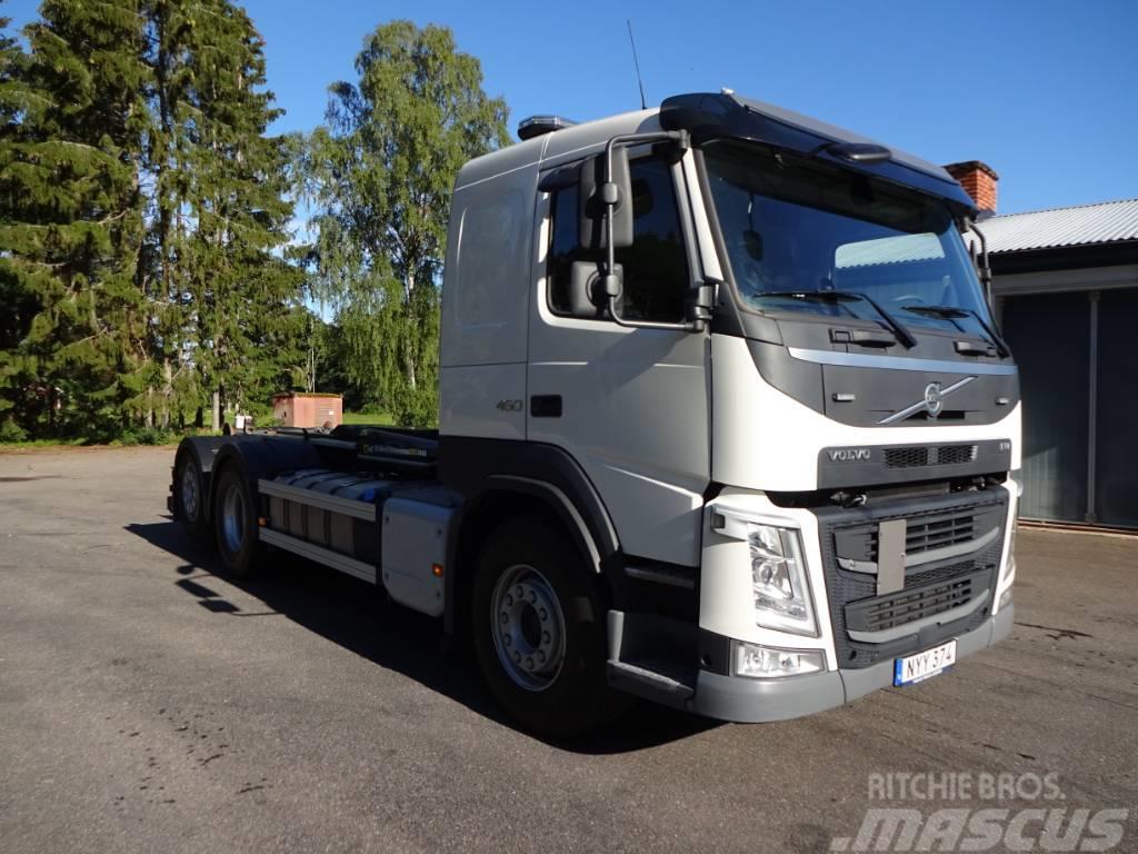 Volvo Fm4 EURO6 OBS Miltal 8605mil Fm450 6x2*4 2017 års