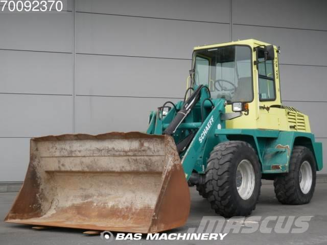 Schaeff SKL853 4X4 Ex german machine -- incl buckets and f