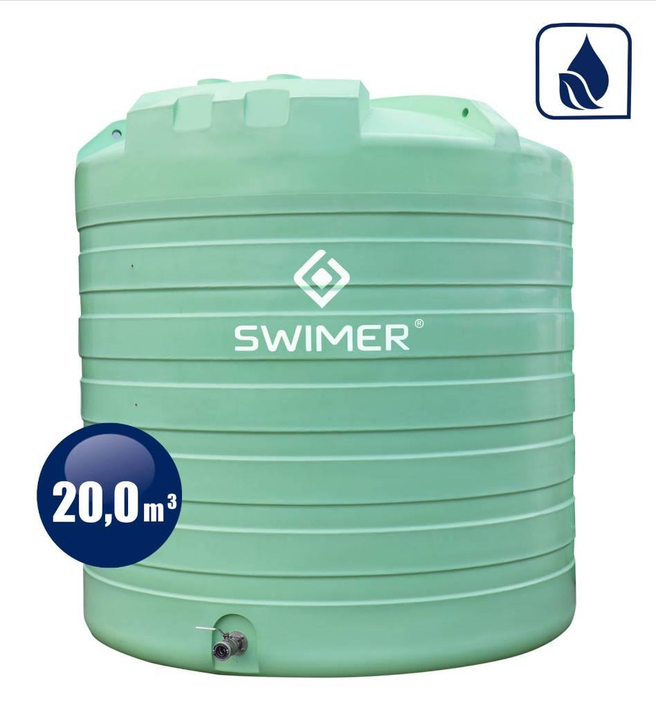 Swimer Tank Agro 20000 Fujp Basic Jednopłaszczowy