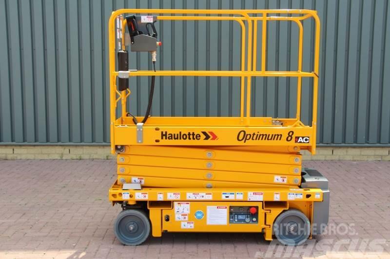 Haulotte OPTIMUM 8AC NEW / UNUSED, 7.8 m Working Height, Al
