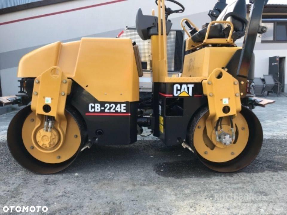 Caterpillar Cat CB 224E UWAGA 500 mth jak nowy