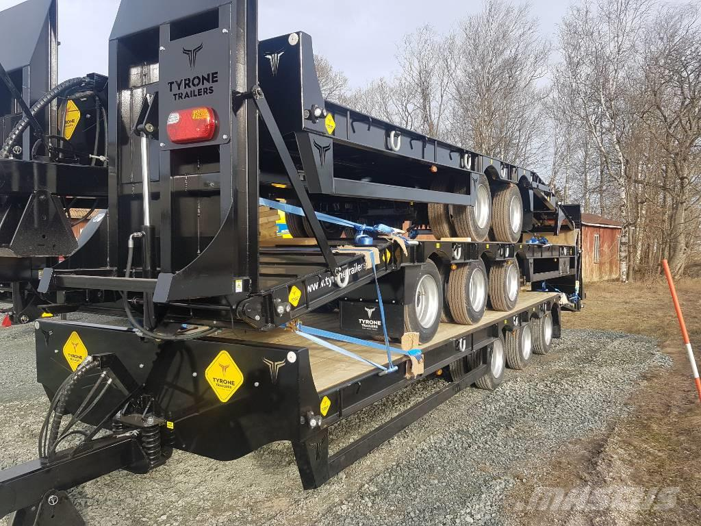 [Other] Tyrone Maskintrailer 27 ton 3 axlar