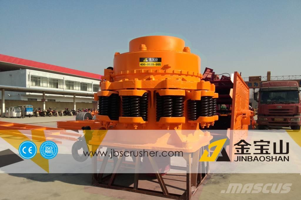 JBS 150tph cone crusher plant jaw crusher
