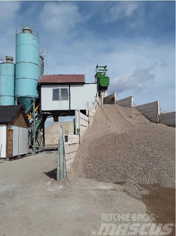 Liebherr Węzeł betoniarski / Concrete mixing plant / Бетонн