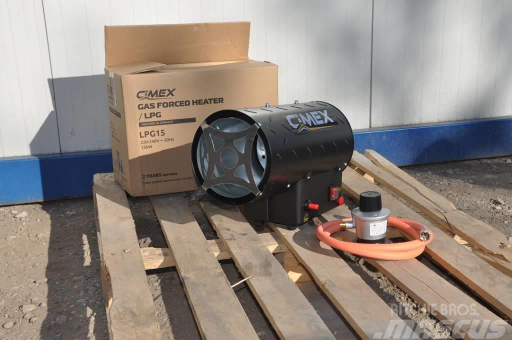 [Other] Propane Torpedo Gas Heater 15kW CIMEX LPG15