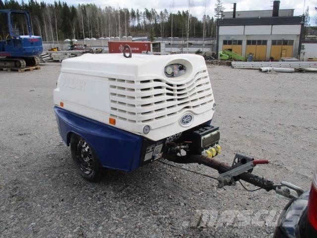 Sullair 38G5 kompressorivaunu (Q06)