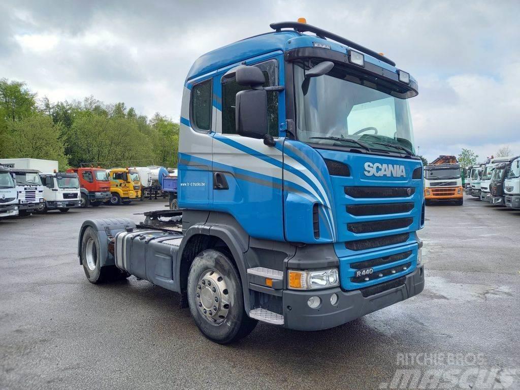 Scania R440 euro 5 - retarder- belgian truck- very good s