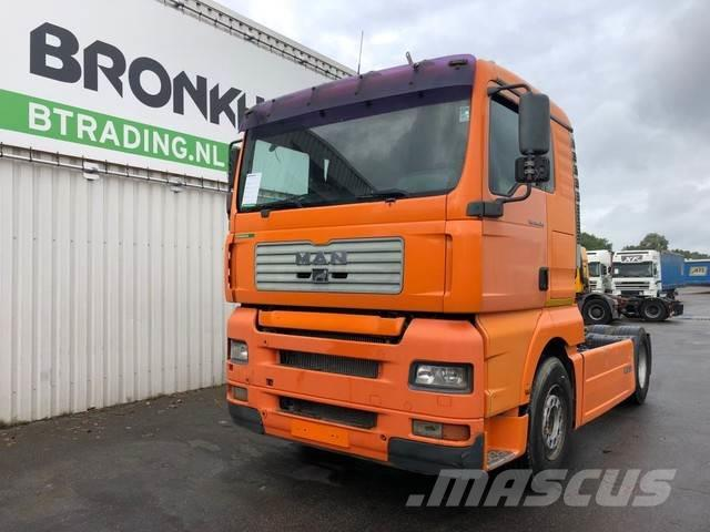 MAN TGA 410 - Euro 3/Manual injector - ZF Intarder - 4