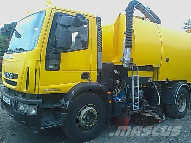 Iveco 180 E250 JOHNSTON SWEEPERS VT800