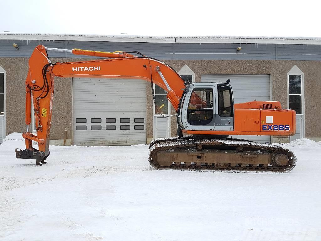 Fiat-Hitachi EX285LC, 2000, Crawler Excavators ...