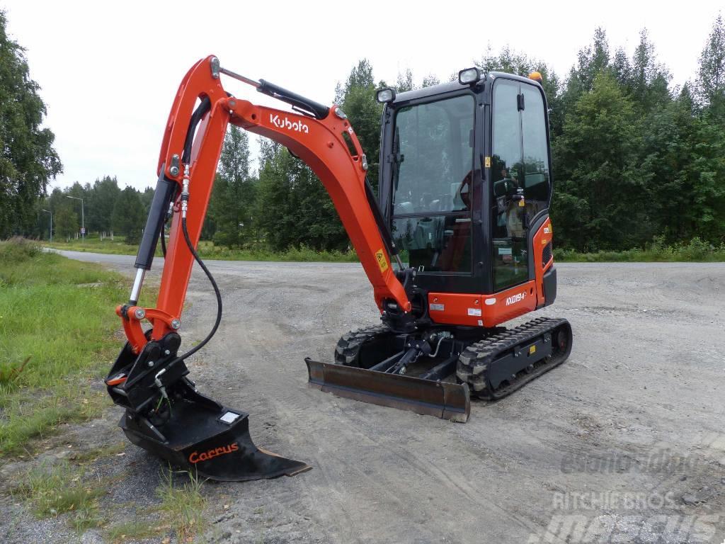 Kubota KX019-4 1 års garanti