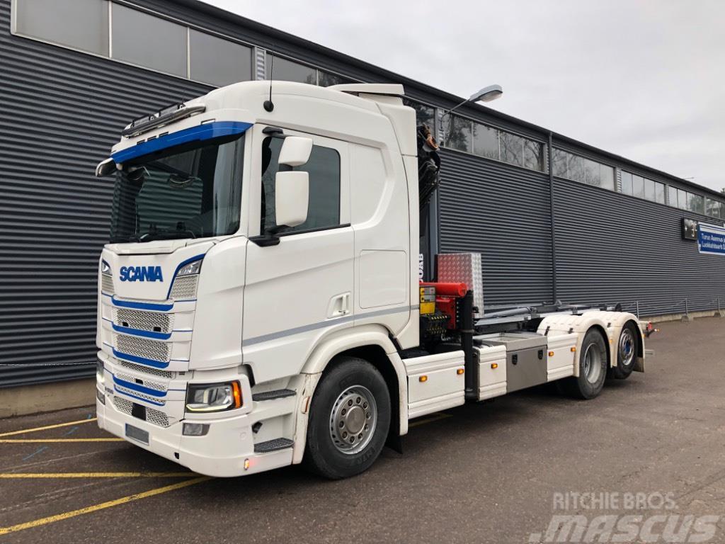 Scania R500 Palfinger PK26002E ja Joab koukku