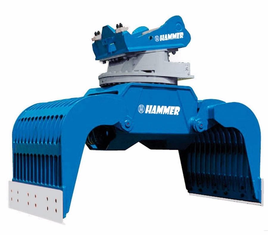 Hammer GRP1500 Hydraulic Demolition Sorting grapple