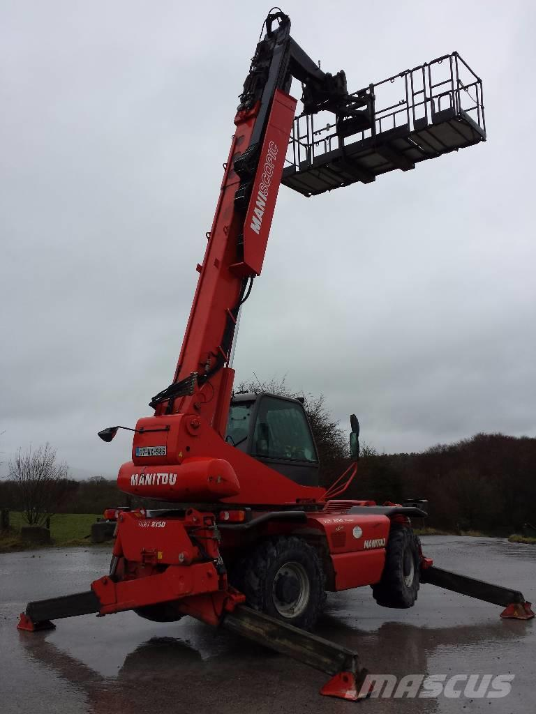 Construction Equipment For Sale >> Manitou 2150 - Telescopic handlers, Year of manufacture: 2006 - Mascus UK