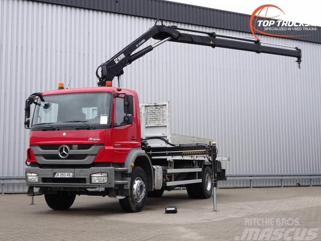 Mercedes-Benz Axor 1829 Hiab 14TM Kraan, Crane, Kran - Remote co