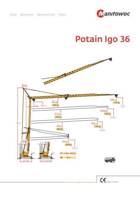 Potain IGO 36