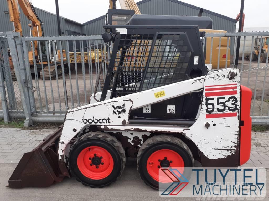 Bobcat 553 schranklader loader skidsteer wiellader 4017H