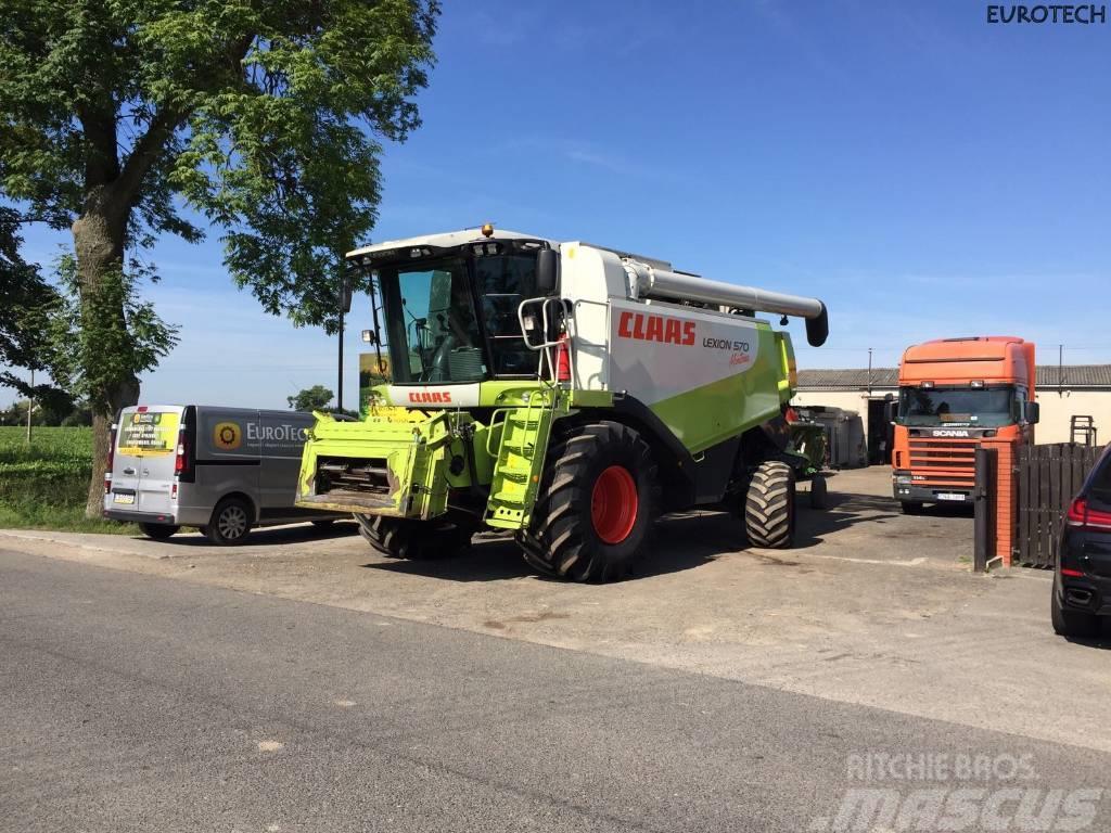CLAAS Lexion 570 Montana 4x4