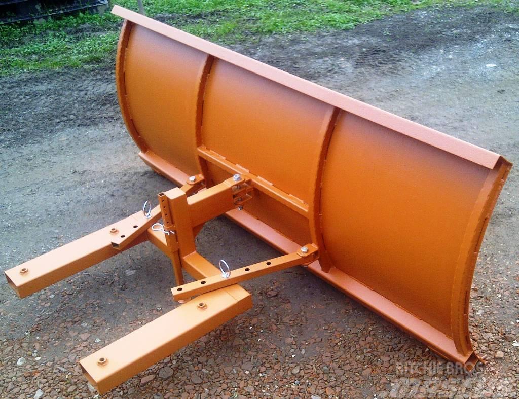 Megas Ralica za viličar L2000 x 800 - forklift snow plow
