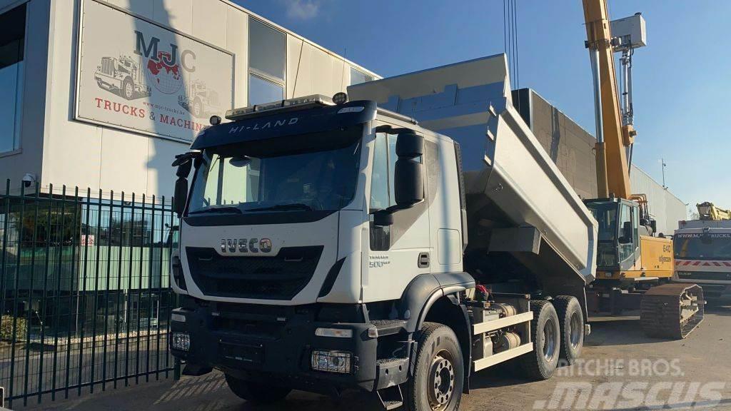 Iveco Trakker 500 6x4 TIPPER / KIPPER - *90.000km* ORIGI