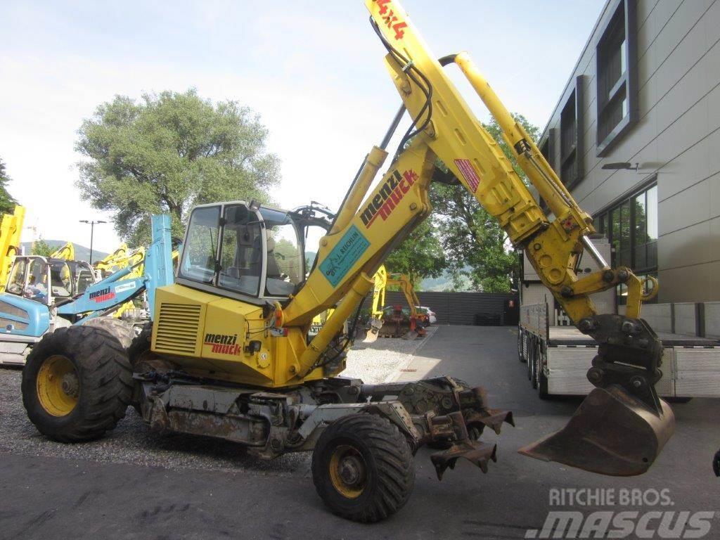 Menzi Muck A71 T2 Mobil 4x4