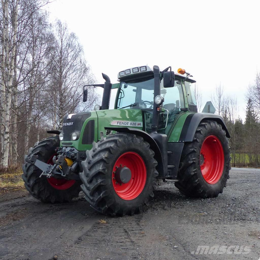 [Other] Fraktfritt! Fendt 820 Vario TMS