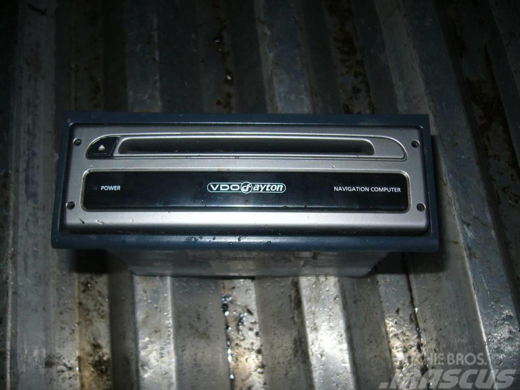 MAN TGA radio