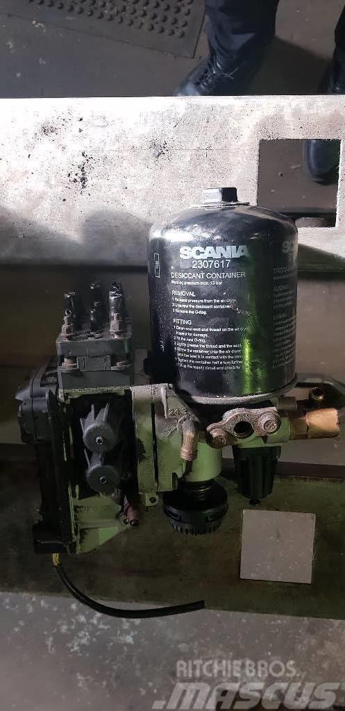 Scania R 620 LB, Lufttork