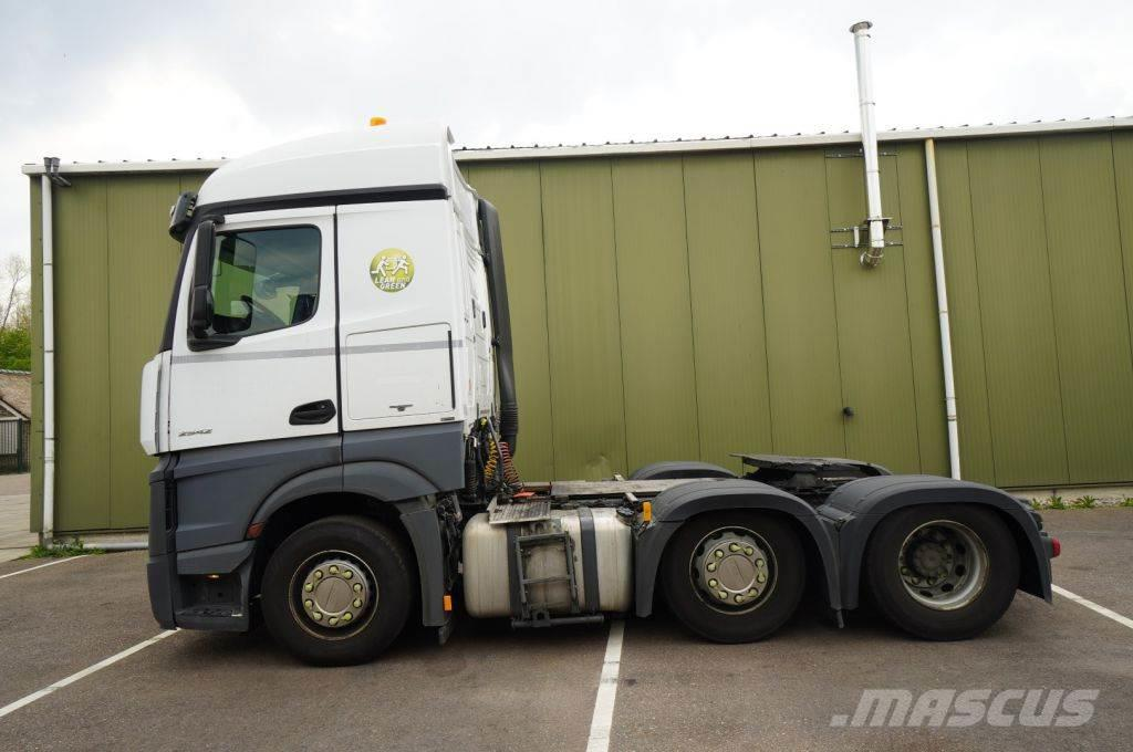 Mercedes-Benz ACTROS 2542 ADR 6X2 BROKEN ENGINE