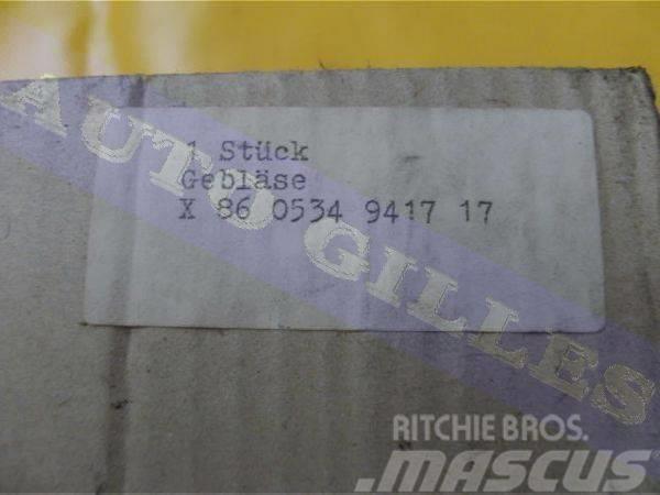 Bosch Lüfter X860534941717 12V, 1985, Övriga