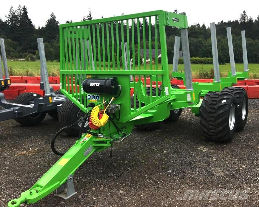 Botex GR-15 Bigfoot Forestry Trailer