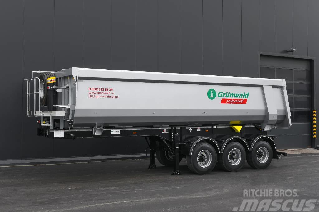 Grunwald Tipper semitrailer 31 cbm