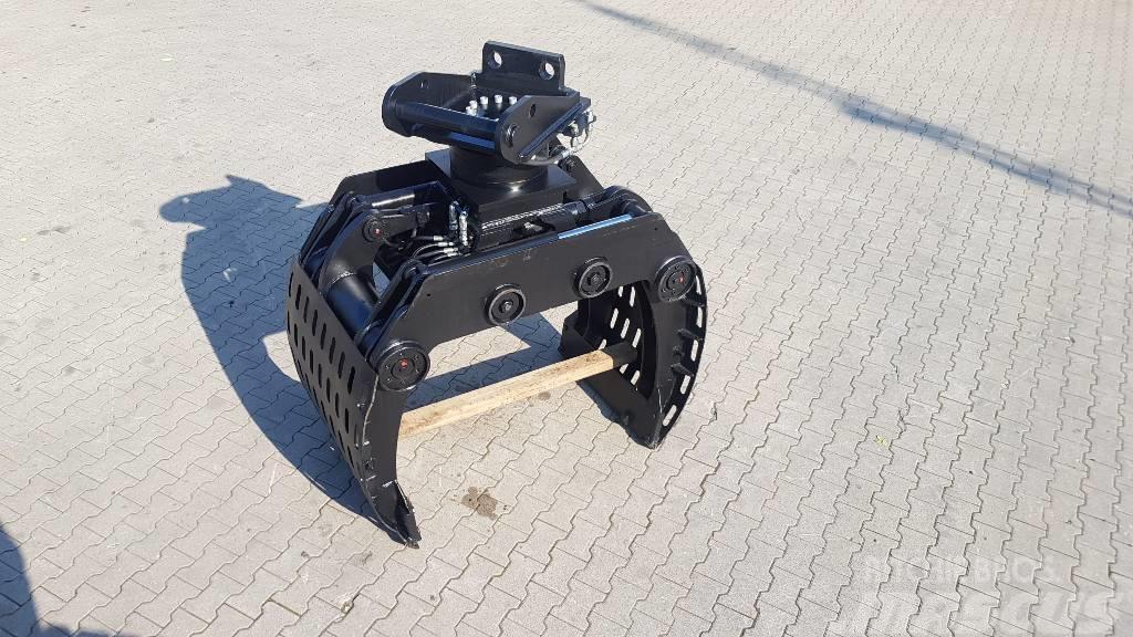 Kinshofer Sortiergreifer mit neuerm Thumm Rotator 615H