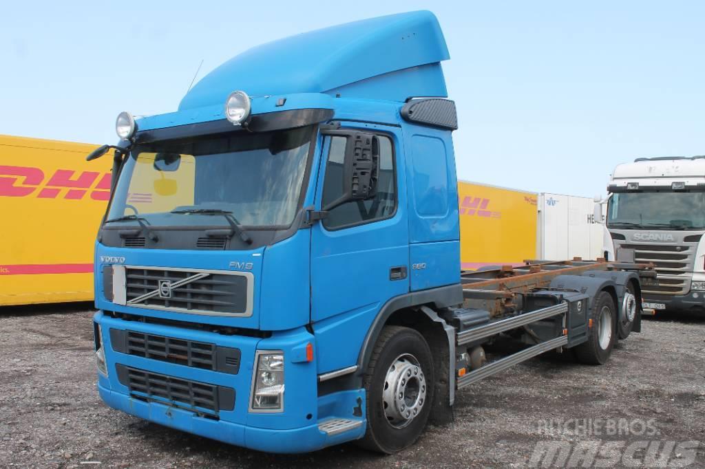 Volvo FM9 380 6X2 (Ej regbevis. Reservdelsbil)