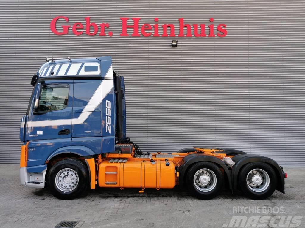 Mercedes-Benz Actros 2658 6x4 Euro 6 Retarder Hubreduction!