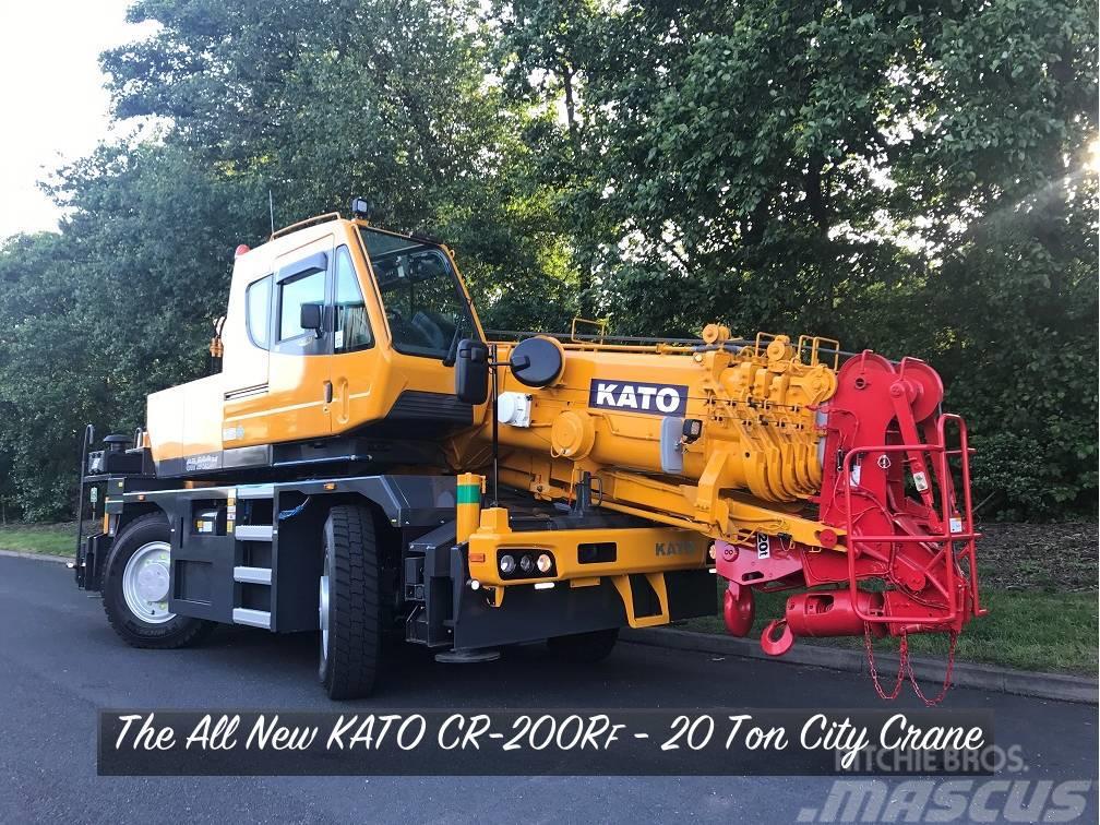 Kato CR-200Rf - New Model 20 Ton City Crane