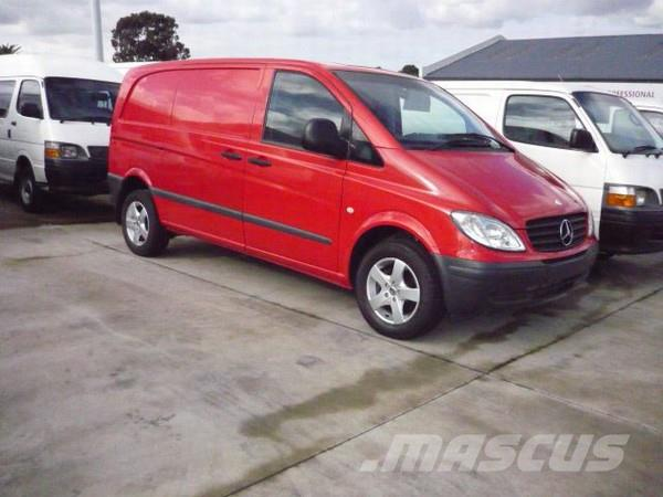 132a69fefa4a3b Used Mercedes-Benz Vito 115CDI Compact panel vans Year  2004 Price ...