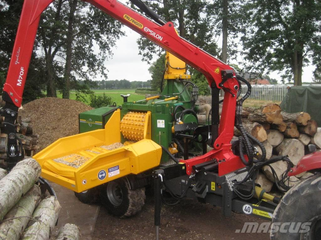 Dutch Dragon EC10045 HOUTVERSNIPPERAAR, WOODCHIPPER, HOLZHACKER
