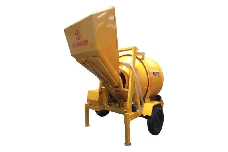 Sino Plant 800 Kg Electric Concrete Mixer with Hydrauli