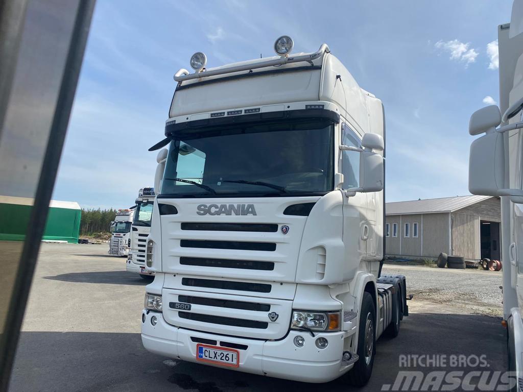 Scania R 560 6x2 Vetopöytä