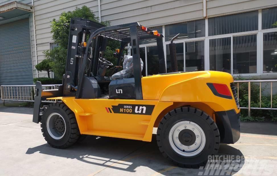 UN Forklift FD80T 8T Diesel Forklift Isuzu
