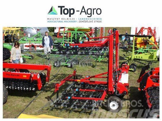 Top-Agro harrow / weeder  6m, hydraulic frame