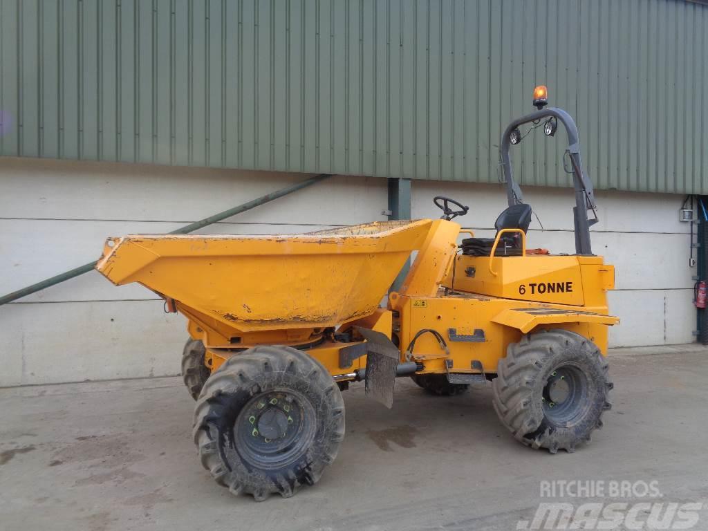 Thwaites 6 tonne swivel skip dumper