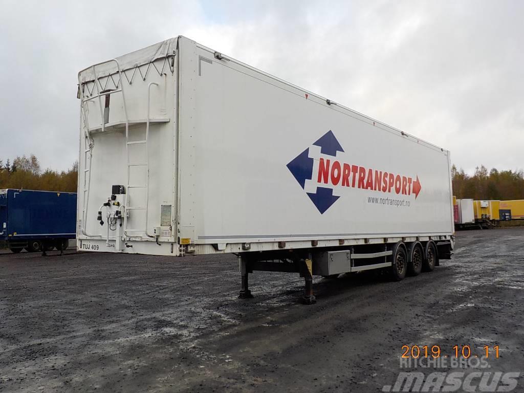 Kraker MOVING FLOOR - HYDRAULISK ÅBENSIDA -4,25 EKS. HÖJD