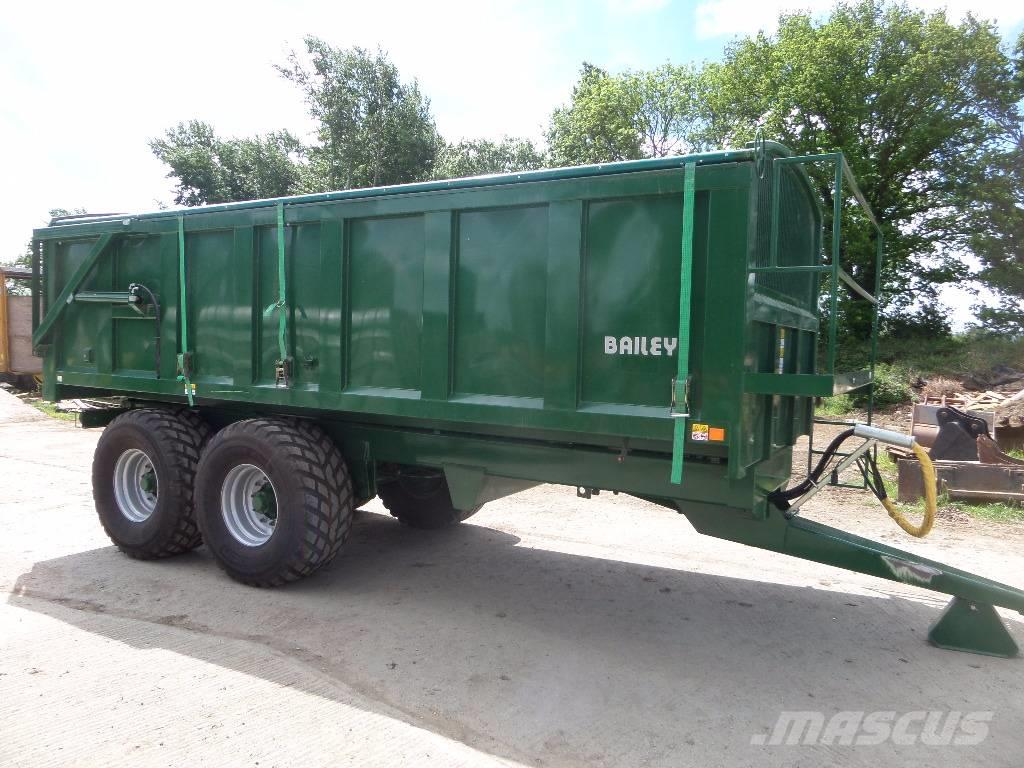 Bailey 14 tonne tipping trailer